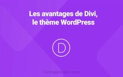 Avantages de Divi, le thème WordPress