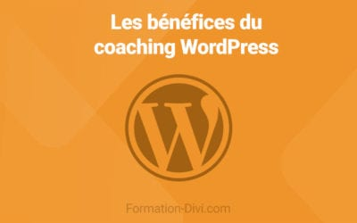 Bénéfices du coaching WordPress