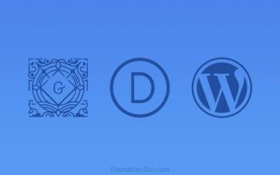 Divi, Gutenberg, WordPress 5, nouvelles versions 2019 : le guide pour s'y retrouver